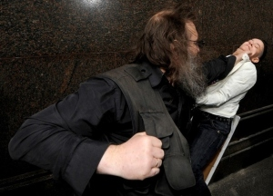 Equality demonstration in Russia interupted by violence. Credit: Andrey Smirnov, Getty Images