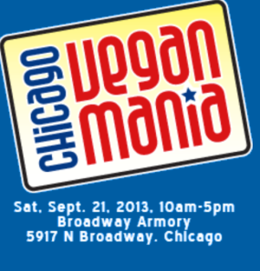 Chicago VeganMania 2013 event details