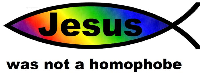 Jesus was not a homophobe 2